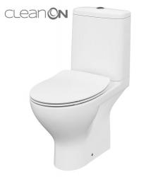 CERSANIT - WC KOMBI MODUO 43 671  011 3/5 CLEAN ON, SEDÁTKO SLIM DUROPLAST-SOFT CLOSE (K116-032)