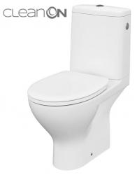 CERSANIT - WC KOMBI MODUO 43 672 010 3/5 CLEAN ON, SEDÁTKO DUROPLAST-SOFT CLOSE (K116-030)
