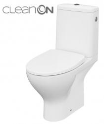 CERSANIT - WC KOMBI MODUO 43 674 010 3/5 CLEAN ON, SEDÁTKO SLIM WRAP DUROPLAST-SOFT CLOSE (K116-036)