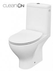 CERSANIT - WC KOMBI MODUO 649  010 3/5 CLEAN ON, SEDÁTKO SLIM DUROPLAST-SOFT CLOSE (K116-001)