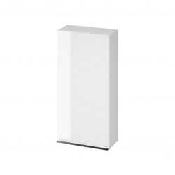 CERSANIT - Závěsná skříňka VIRGO 40 bílá s černými úchyty (S522-036)