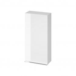 CERSANIT - Závěsná skříňka VIRGO 40 bílá s chromovými úchyty (S522-039)