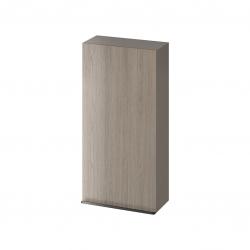 CERSANIT - Závěsná skříňka VIRGO 40 šedý dub s černými úchyty (S522-038)