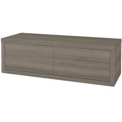Dřevojas - Koupelnová skříň STORM SZZ2 120 bez umyvadla - D03 Cafe / D03 Cafe / Levé (169329)