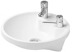 DURAVIT - Architec Umyvadlo bez přepadu, průměr 400 mm, bílá (0462400000)
