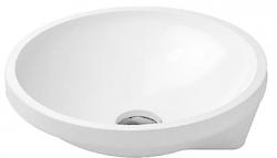 DURAVIT - Architec Umyvadlo bez přepadu, průměr 400 mm, bílá (0463400000)