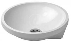 DURAVIT - Architec Umyvadlo bez přepadu, průměr 400 mm, WonderGliss, bílá (04634000001)