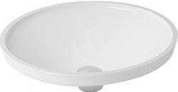 DURAVIT - Architec Umyvadlo bez přepadu, průměr 420 mm, bílá (0319420000)