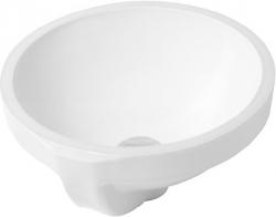 DURAVIT - Architec Umyvadlo s přepadem, průměr 325 mm, bílá (0319320000)