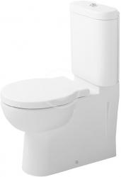 DURAVIT - Bathroom_Foster Splachovací nádrž 375x175 mm, připojení vlevo/vpravo, bílá (0912000005)