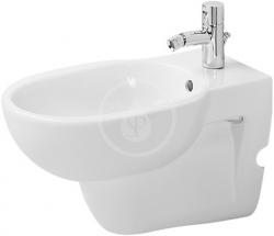 DURAVIT - Bathroom_Foster Závěsný bidet, s přepadem, bílá (0134150000)