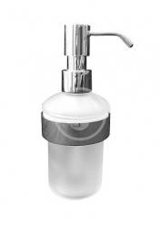 DURAVIT - D-Code Dávkovač mýdla s držákem, sklo/chrom (0099161000)