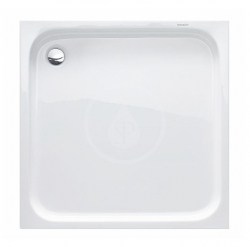 DURAVIT - D-Code Sprchová vanička 1000x1000 mm, Antislip, alpská bílá (720103000000001)