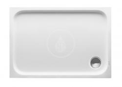 DURAVIT - D-Code Sprchová vanička 1000x700 mm, Antislip, alpská bílá (720093000000001)