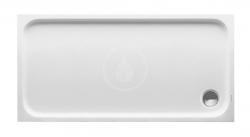 DURAVIT - D-Code Sprchová vanička 1400x700 mm, Antislip, alpská bílá (720095000000001)