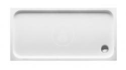 DURAVIT - D-Code Sprchová vanička 1500x750 mm, alpská bílá (720099000000000)