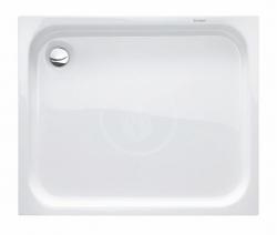 DURAVIT - D-Code Sprchová vanička 900x750 mm, Antislip, alpská bílá (720104000000001)