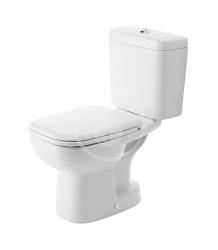 DURAVIT - D-Code WC kombi mísa, spodní odpad, alpská bílá (21110100002)