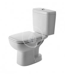 DURAVIT - D-Code WC kombi mísa, spodní odpad, s HygieneGlaze, alpská bílá (21110120002)