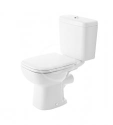 DURAVIT - D-Code WC kombi mísa, zadní odpad, s HygieneGlaze, alpská bílá (21110920002)