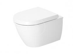 DURAVIT - Darling New Závěsné WC Compact, DuraFix, alpská bílá (2549090000)