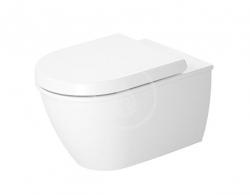 DURAVIT - Darling New Závěsné WC, DuraFix, alpská bílá (2545090000)