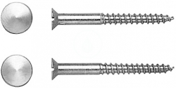 DURAVIT - Duraplus Upevnění, průměr 6 mm, chrom (0067001000)