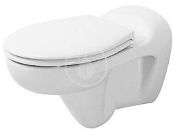 DURAVIT - Duraplus Závěsné WC Bambi, bílá (0185090000)