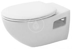 DURAVIT - Duraplus Závěsné WC Colomba, bílá (2547090000)