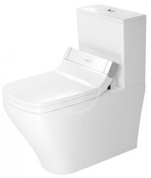 DURAVIT - DuraStyle WC kombi mísa pro SensoWash, bílá (2156590000)