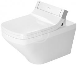 DURAVIT - DuraStyle Závěsné WC pro SensoWash, s WonderGliss, bílá (25375900001)