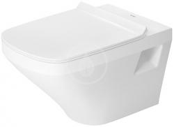 DURAVIT - DuraStyle Závěsné WC, s WonderGliss, bílá (25360900001)