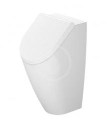 DURAVIT - ME by Starck Víko pro urinál, se sklápěním SoftClose, alpská bílá (0024090000)