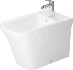 DURAVIT - P3 Comforts Stojící bidet, 380 mm x 600 mm, bílý (2269100000)