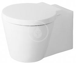 DURAVIT - Starck 1 Závěsné WC, WonderGliss, bílá (02100900641)
