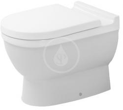DURAVIT - Starck 3 Stojící WC, s WonderGliss, bílá (01240900001)