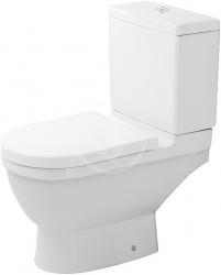 DURAVIT - Starck 3 WC kombi mísa, bílá (0126090000)