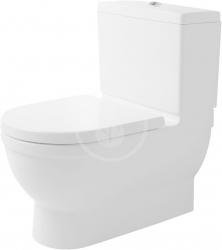 DURAVIT - Starck 3 WC mísa kombi Big Toilet, bílá (2104090000)
