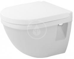 DURAVIT - Starck 3 Závěsné WC Compact, s WonderGliss, bílá (22020900001)