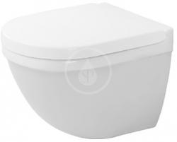 DURAVIT - Starck 3 Závěsné WC Compact, s WonderGliss, bílá (22270900001)