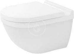 DURAVIT - Starck 3 Závěsné WC, Rimless, bílá (2527090000)