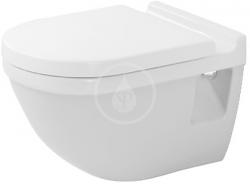 DURAVIT - Starck 3 Závěsné WC, s WonderGliss, bílá (22000900001)