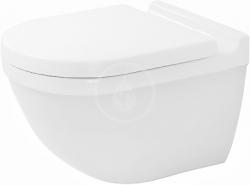 DURAVIT - Starck 3 Závěsné WC, s WonderGliss, bílá (22250900001)