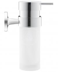 DURAVIT - Starck T Dávkovač mýdla s držákem, chrom/mléčné sklo (0099351000)