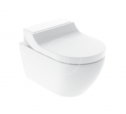 GEBERIT - AquaClean Elektronický bidet Tuma Classic s keramikou, Rimfree, SoftClosing, alpská bílá (146.092.11.1)