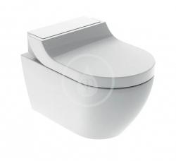 GEBERIT - AquaClean Elektronický bidet Tuma Comfort s keramikou, Rimfree, SoftClosing, alpská bílá (146.292.11.1)