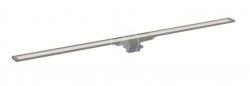 GEBERIT - CleanLine Nerezový sprchový kanálek 20, 300-1600 mm, černá/kartáčovaná nerez (154.453.00.1)
