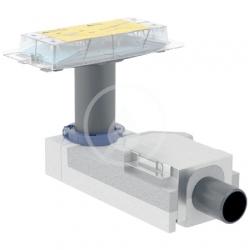 GEBERIT - CleanLine Souprava pro hrubou montáž sprchového kanálku, pro podlahy 90-200 mm, odpad 50 mm (154.150.00.1)