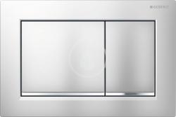 GEBERIT - Omega30 Ovládací tlačítko OMEGA30, chrom mat/lesklý chrom (115.080.KN.1)