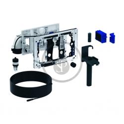 GEBERIT - Příslušenství Jednotka odsávání zápachu DuoFresh, manuální spouštění, pro splachovací nádržku Sigma 12 cm, chrom (115.051.21.1)